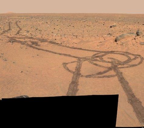 curiosity tracks