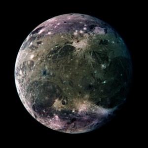 Ganymede-moon