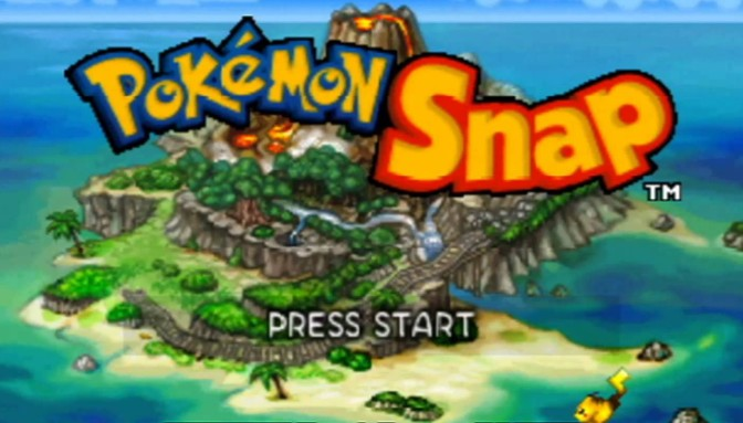That Charizard Came From The Volcano! Snapshots of Pokémon Snap