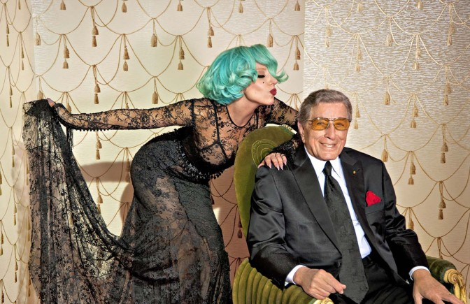 "Lady GaGa and Tony Bennett: ""Anything Goes"" + George Ezra: ""Budapest"""