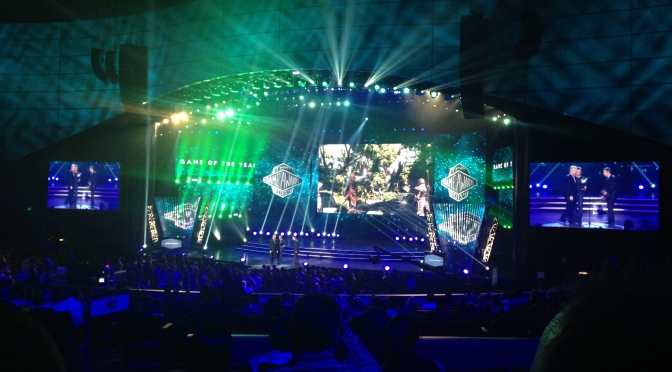 In That Darkened Seat: Attending The 2014 Game Awards