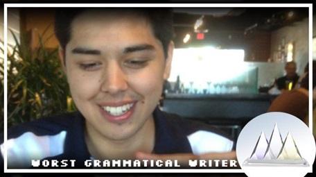 worst grammatical writer