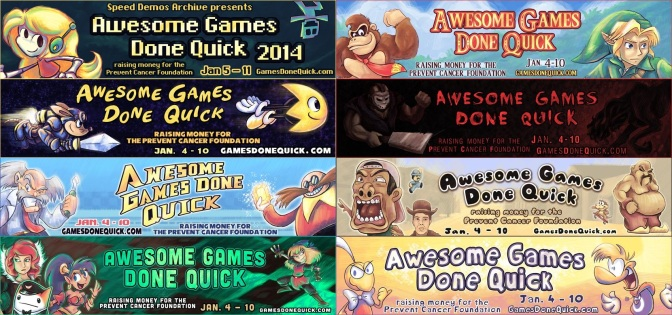 "Happy MMXV, & Enjoy ""Awesome Games Done Quick 2015""!"
