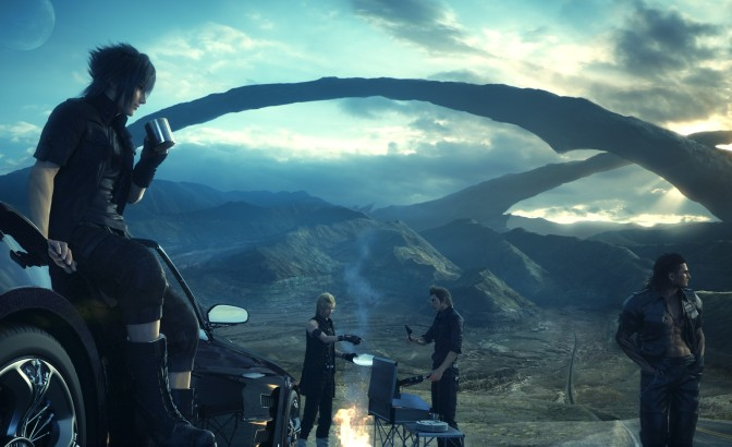 Final Fantasy XV Demo: The Sandwich Review